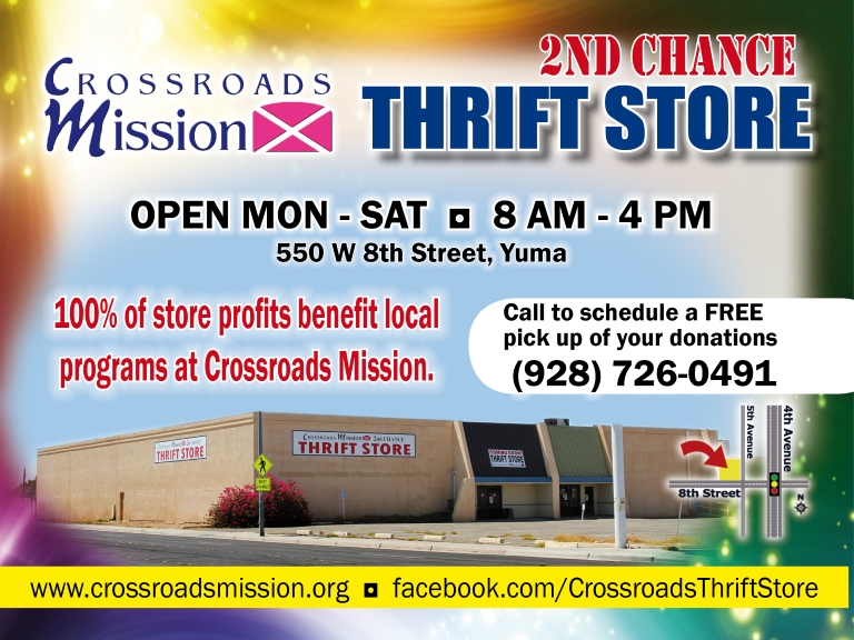 crossroads mission, yuma county, az