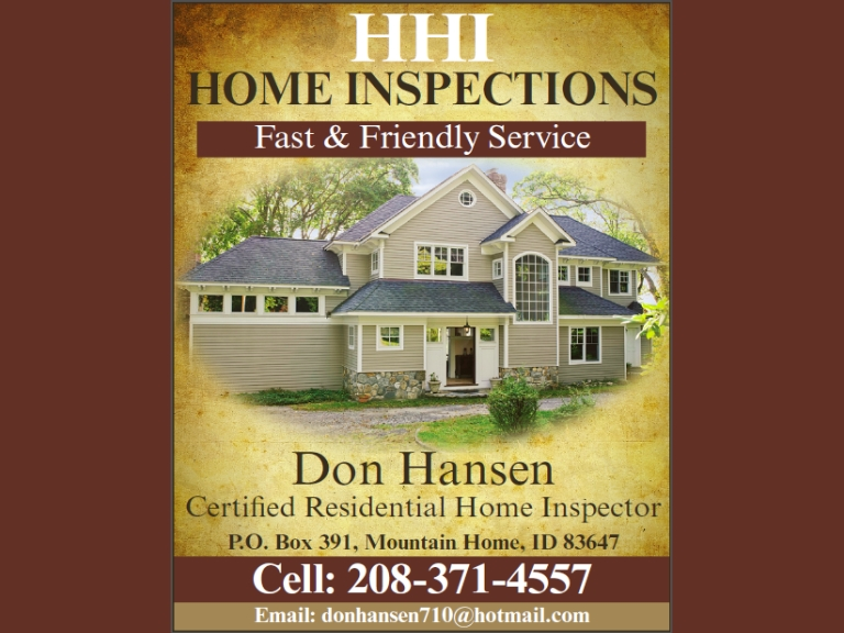 hhi home inspections, elmore county, id