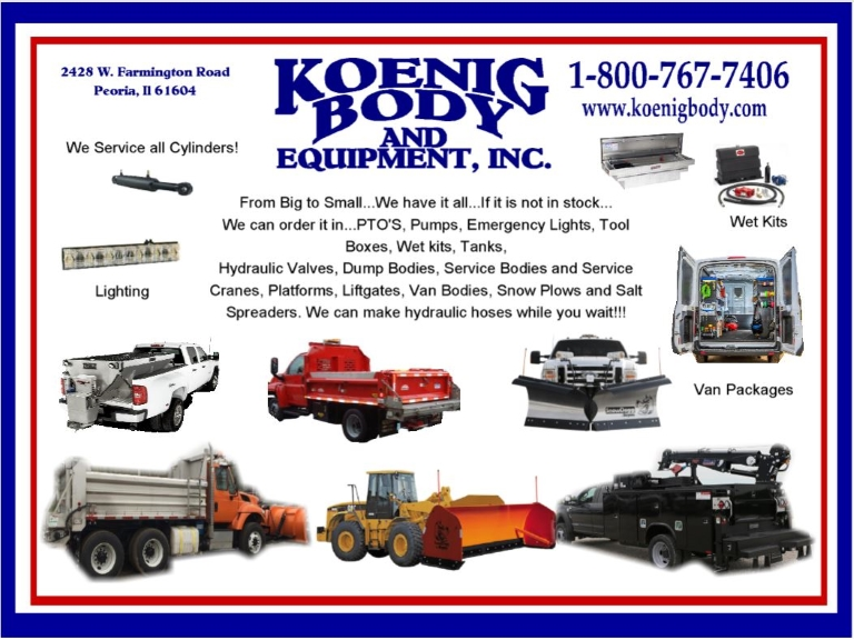 trucking equipment, peoria county il