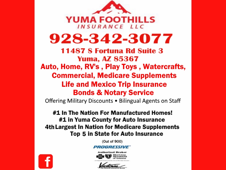 insurance, yuma county az
