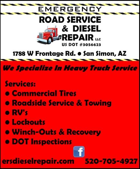 road side assitance, cochise county az