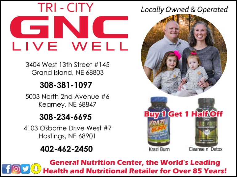 gnc, buffalo county ne
