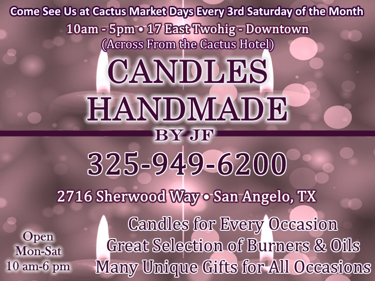 candles, tom green county