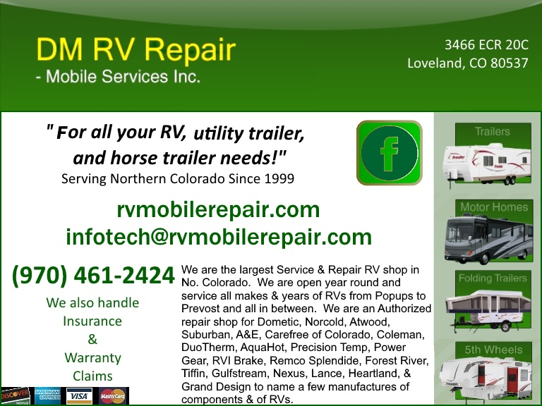 rv repair, laramie county co