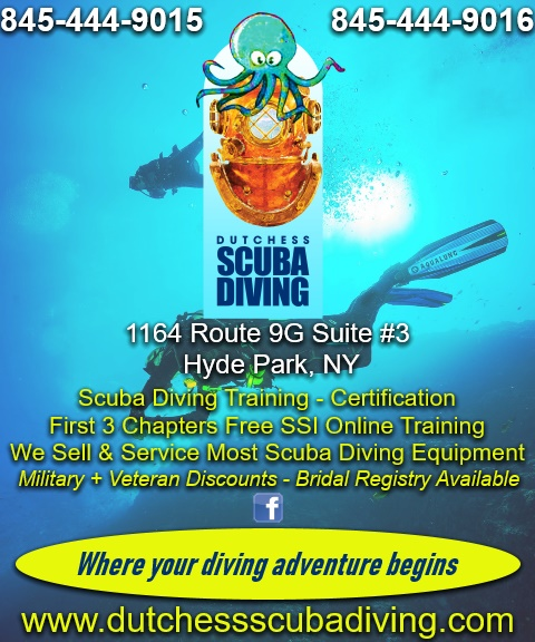scuba diving, dutchess county ny