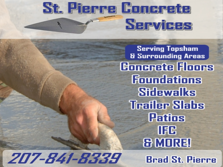 concrete repair, sagadahoc county me