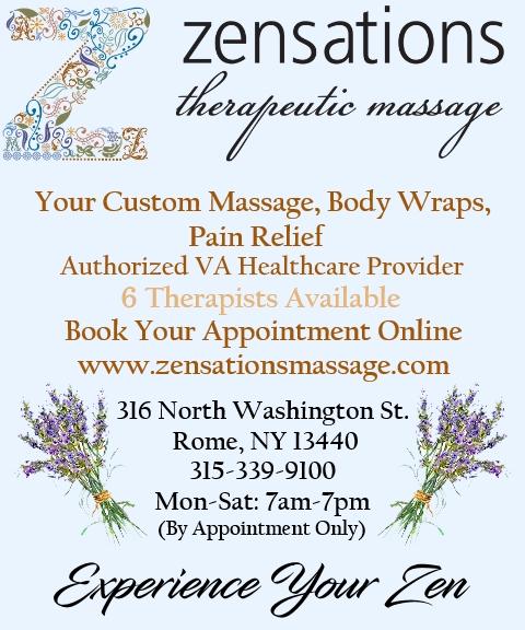 massage therapy, oneida county ny