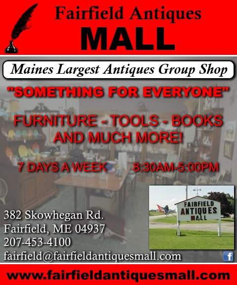 antique mall, fairfield me
