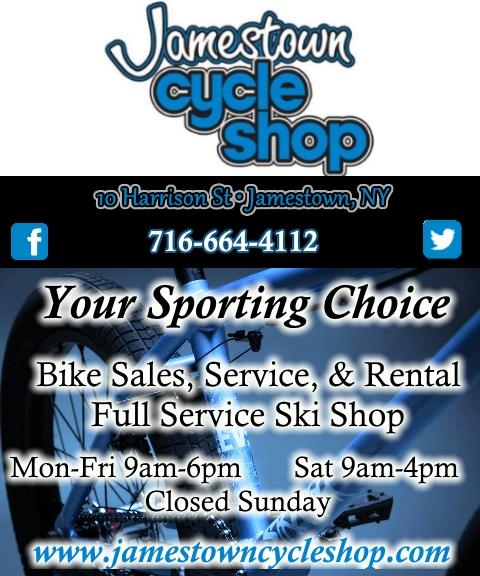 bike shop, chautauqua county ny