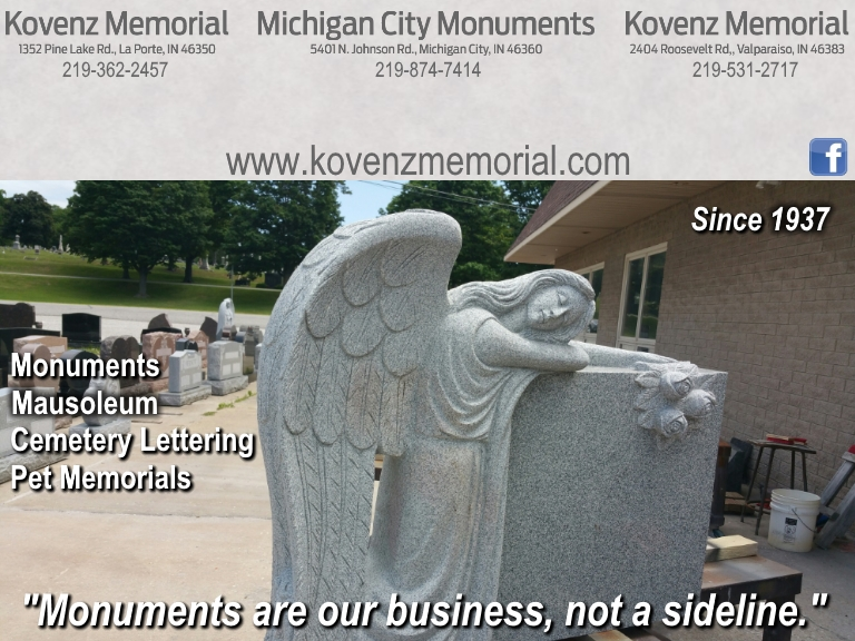monuments, porter county in