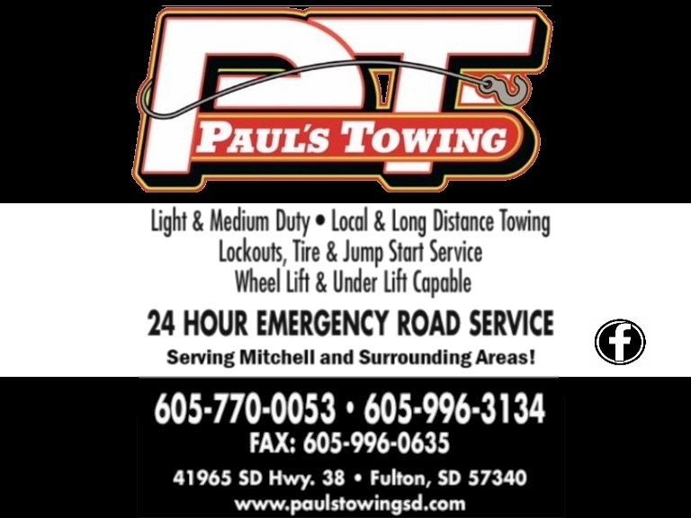 TOWING, DAVIDSON COUNTY SD