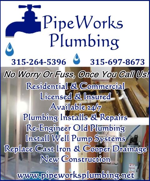 plumbers, oneida county ny