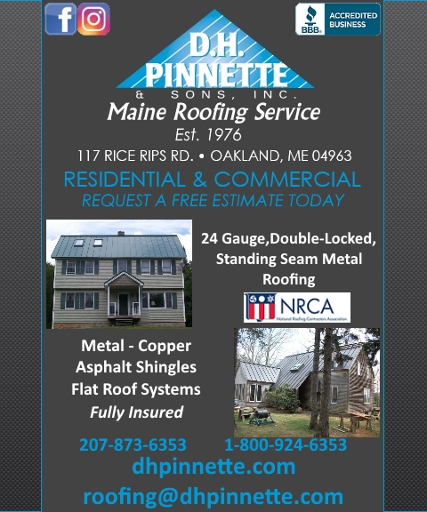 roofing, kennebec county ma