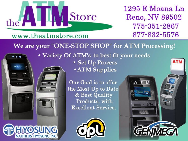 ATM MACHINES, WASHO COUNTY NV