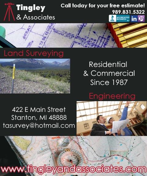 land surveyor, montcalm county mi