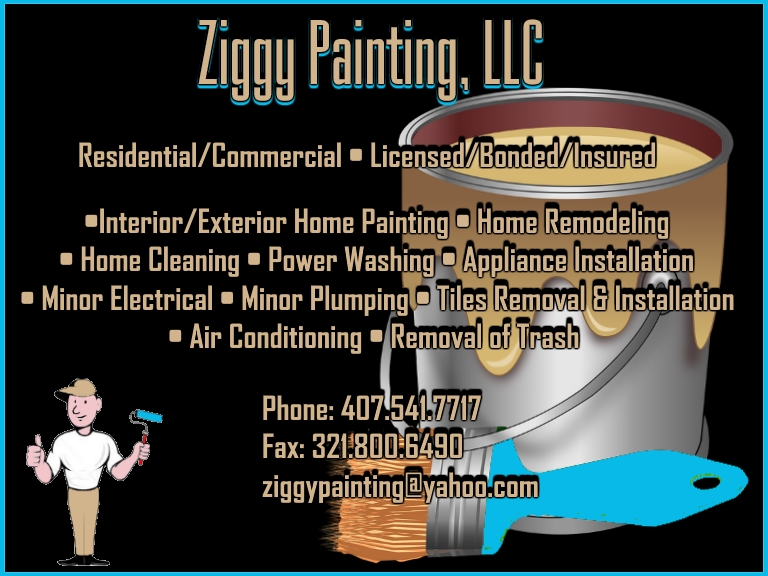 HOUSE PAINTER, ORANGE COUNTY FL