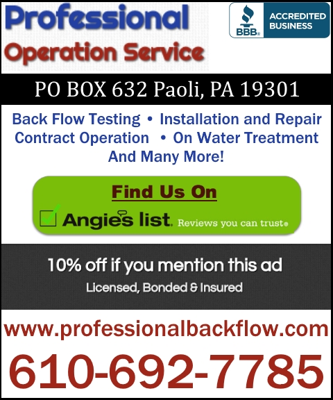 water treatment, chester pa