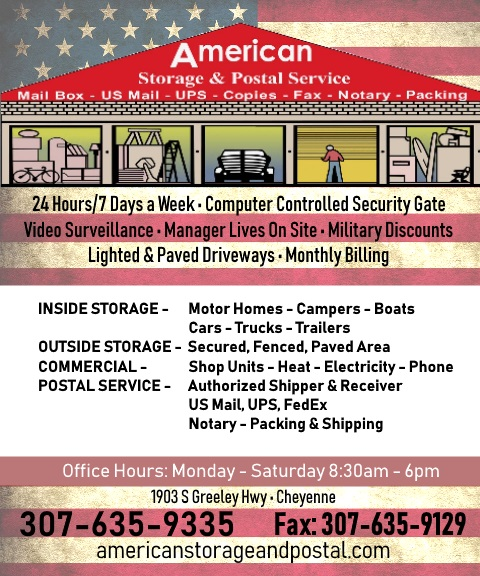 american storage & postal service cheyenne wy