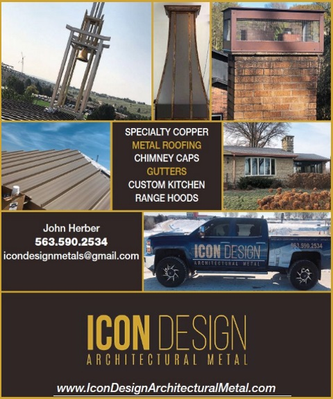 ICON DESIGN ARCHITECTURAL METAL DUBUQUE IA