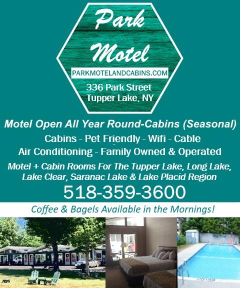 park motel, tupper lake ny