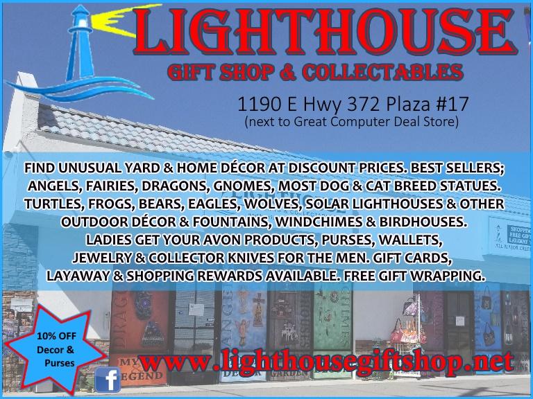 lighthouse gift shop, pahrump nv