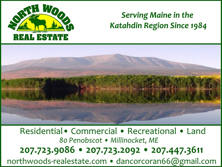 northwoods real estate, millinocket me
