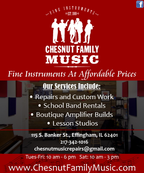 chesnut family music, effingham il