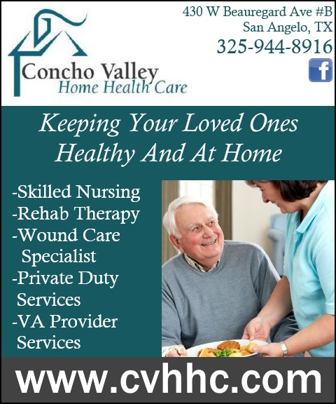 HOME HEALTH CARE, TOM GREEN COUNTY TX