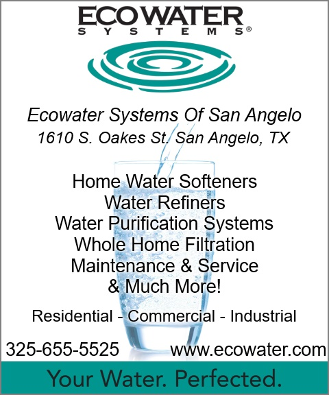 ecowater of san angelo