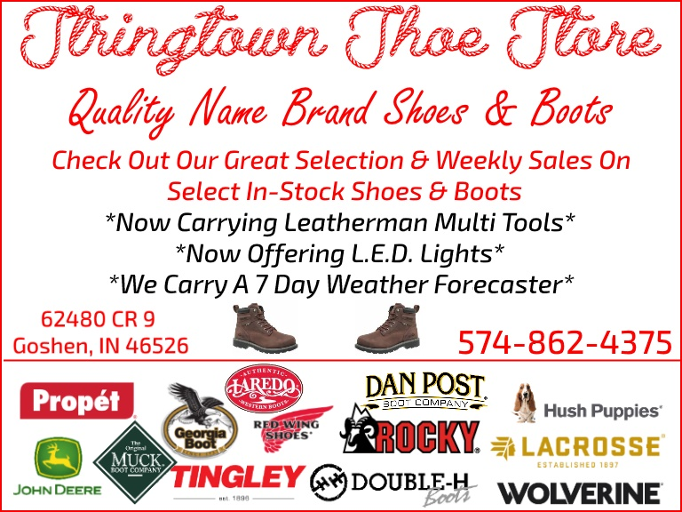 stringtown shoe goshen in