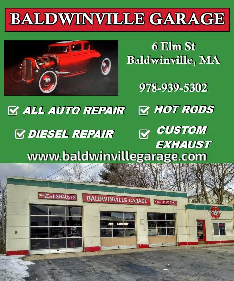 baldwinville garage, worcester county ma