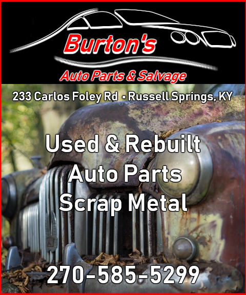 burton auto repair, russell springs ky