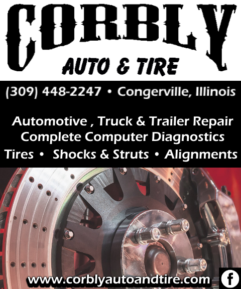CORBLY AUTO & TIRE, CONGERVILLE IL