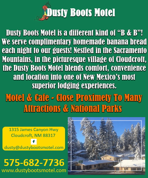 dusty boots motel, cloudcraft nm