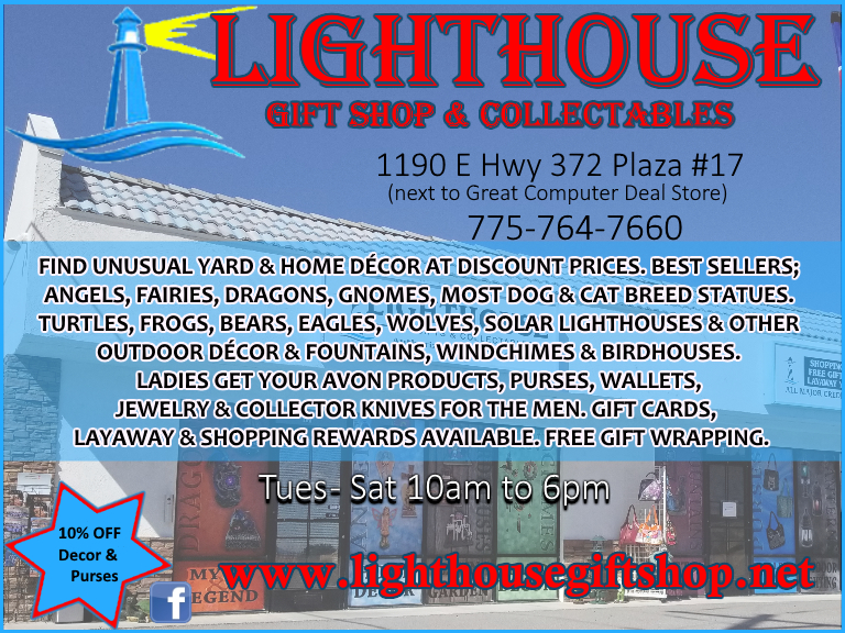 lighthouse gifts, pahrump, nye county nv
