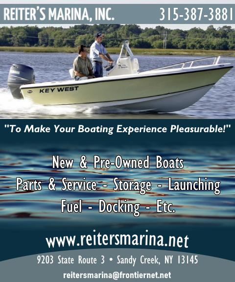 reiters marina, oswego county ny