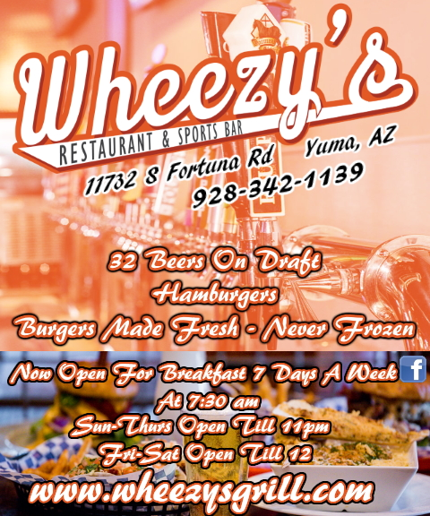 WHEEZYS SPORTS BAR YUMA AZ