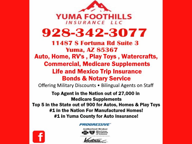 yuma foothills insurance yuma az