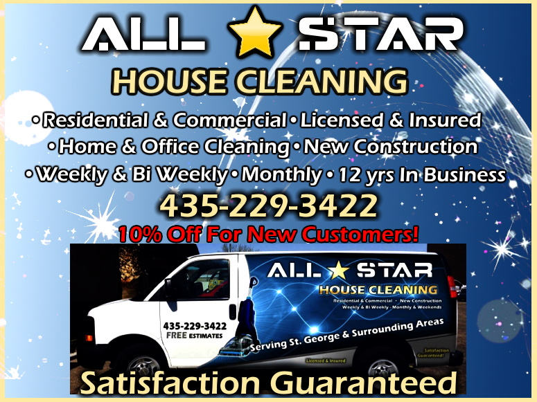 all star cleaning st george ut