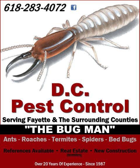 DC pest control, vandalia il
