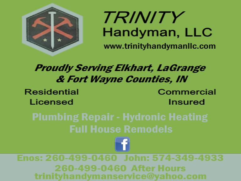 triunity handyman, topeka in