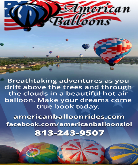 balloon rides pasco county fl