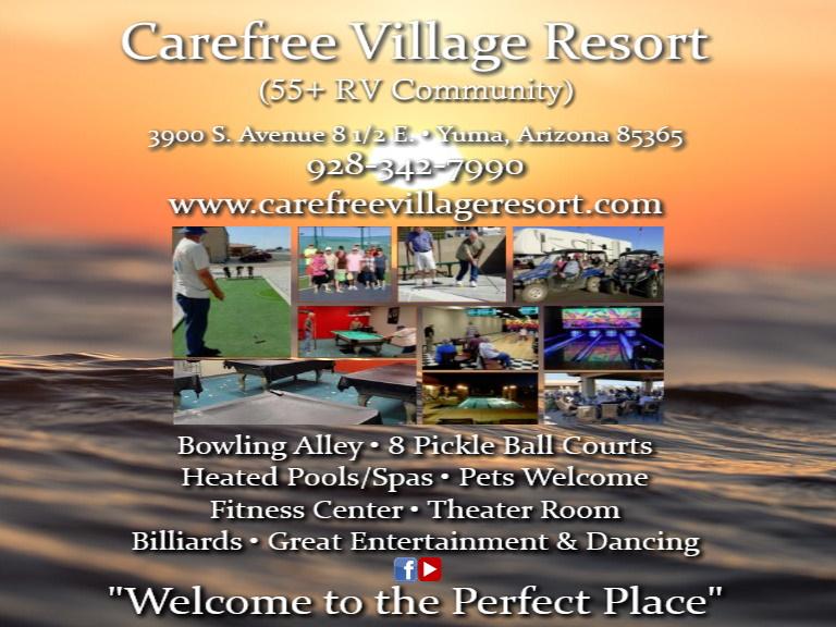 carefree village resort yuma county az