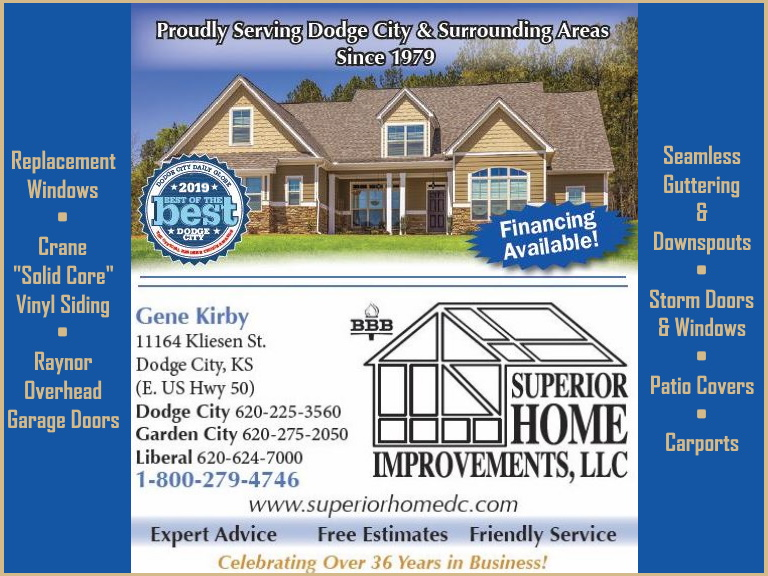 home improvements, ford county ks
