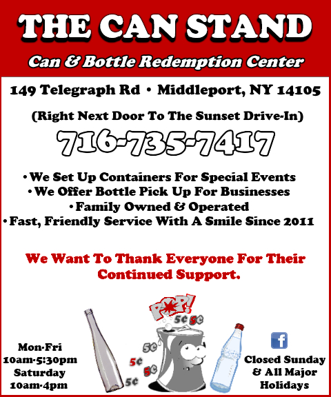 can & bottle recycling niagara county ny