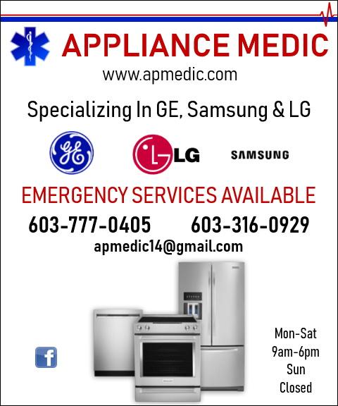 appliance repair rockingham county nh