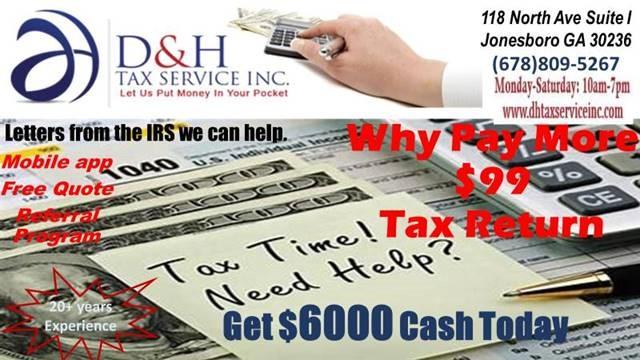 tax service jonesboro ga