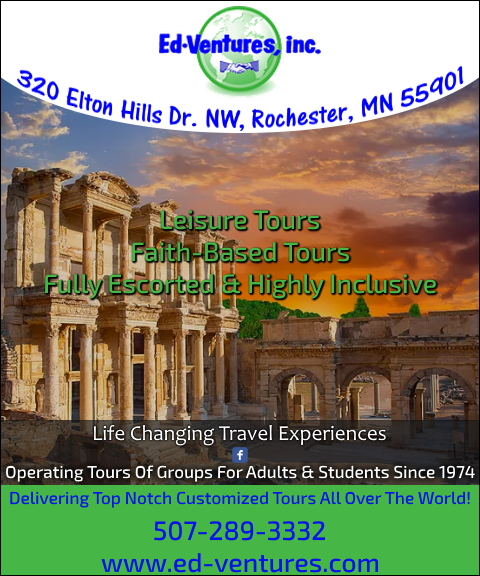 travel agency olmstead county mn