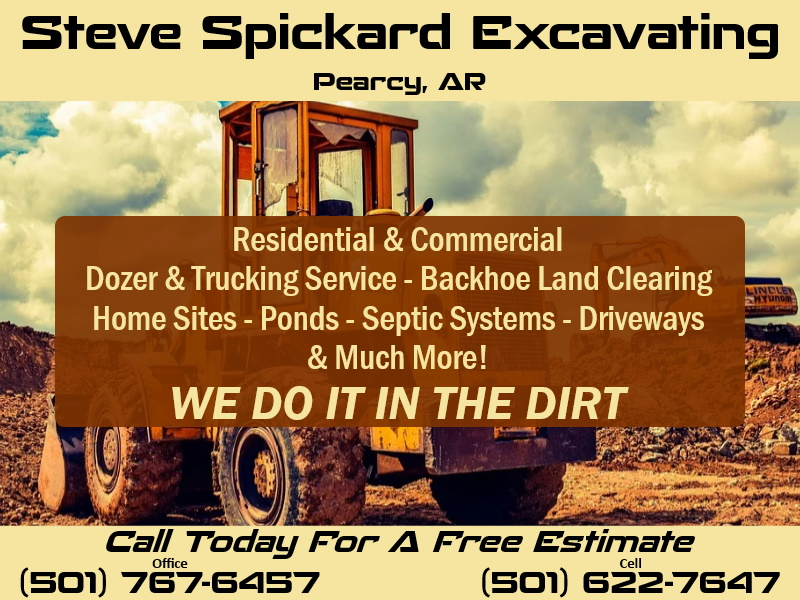 excavating garland county ar