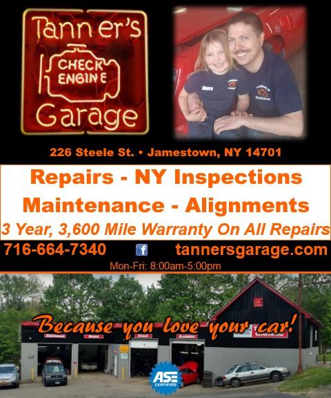 auto repair cattaraugus county ny